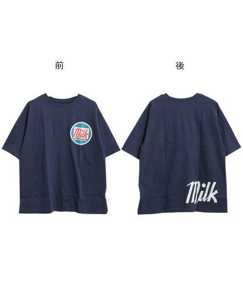 felt maglietta(フェルトマリエッタ)/オーバーサイズゆるかわBIGTシャツ/am206_img10