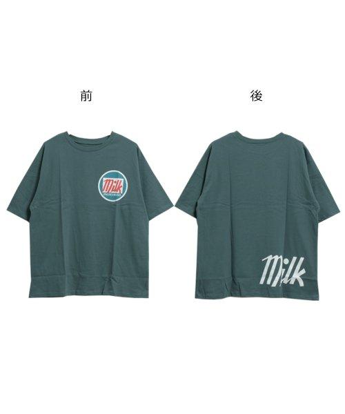 felt maglietta(フェルトマリエッタ)/オーバーサイズゆるかわBIGTシャツ/am206_img11