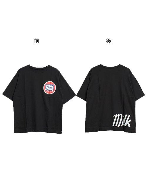 felt maglietta(フェルトマリエッタ)/オーバーサイズゆるかわBIGTシャツ/am206_img15