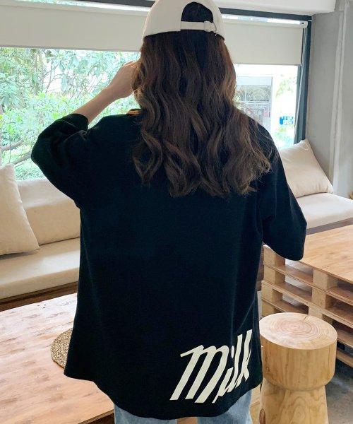 felt maglietta(フェルトマリエッタ)/オーバーサイズゆるかわBIGTシャツ/am206_img18