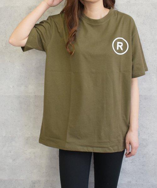 felt maglietta(フェルトマリエッタ)/英字ロゴオーバーサイズTシャツ/am218_img06