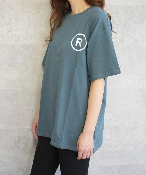 felt maglietta(フェルトマリエッタ)/英字ロゴオーバーサイズTシャツ/am218_img08