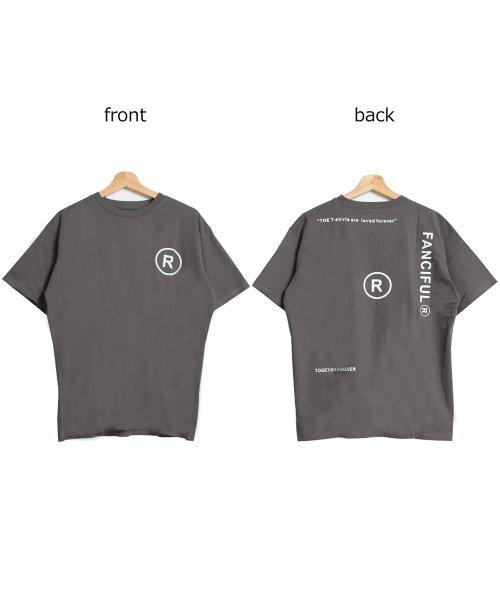 felt maglietta(フェルトマリエッタ)/英字ロゴオーバーサイズTシャツ/am218_img11