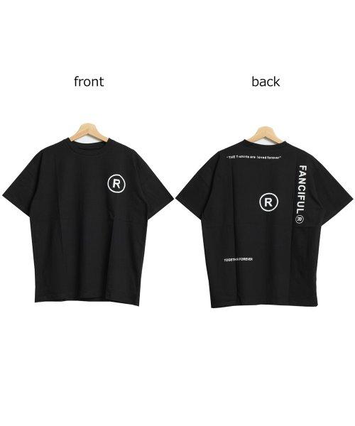 felt maglietta(フェルトマリエッタ)/英字ロゴオーバーサイズTシャツ/am218_img12