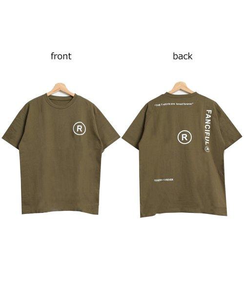felt maglietta(フェルトマリエッタ)/英字ロゴオーバーサイズTシャツ/am218_img13