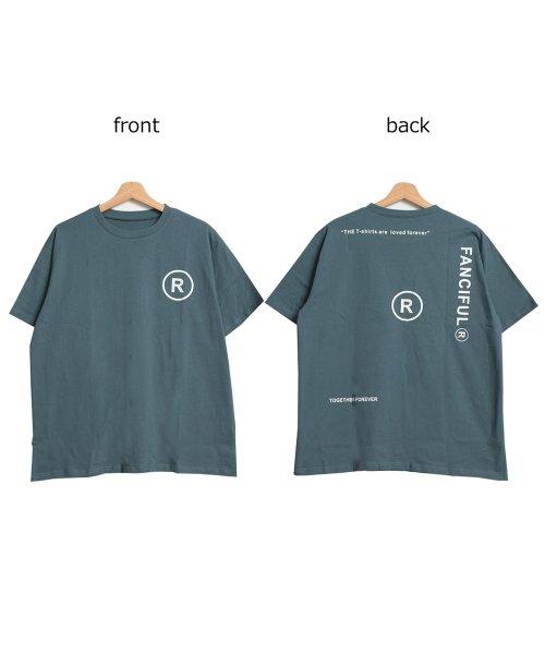 felt maglietta(フェルトマリエッタ)/英字ロゴオーバーサイズTシャツ/am218_img14