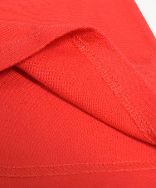 felt maglietta(フェルトマリエッタ)/ゆったり着れるバイカラーロゴTシャツ/am221_img04
