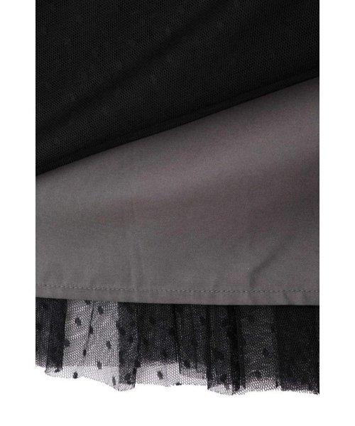 PROPORTION BODY DRESSING(プロポーション ボディドレッシング)/◆ドットチュールプリーツスカート/1219220802_img06