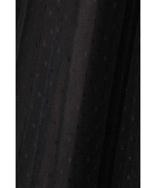 PROPORTION BODY DRESSING(プロポーション ボディドレッシング)/◆ドットチュールプリーツスカート/1219220802_img07