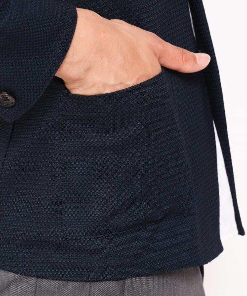 MICHEL KLEIN HOMME(ミッシェルクランオム)/羽織り(リンクスカノコジャガード)/MNCJG30230_img15