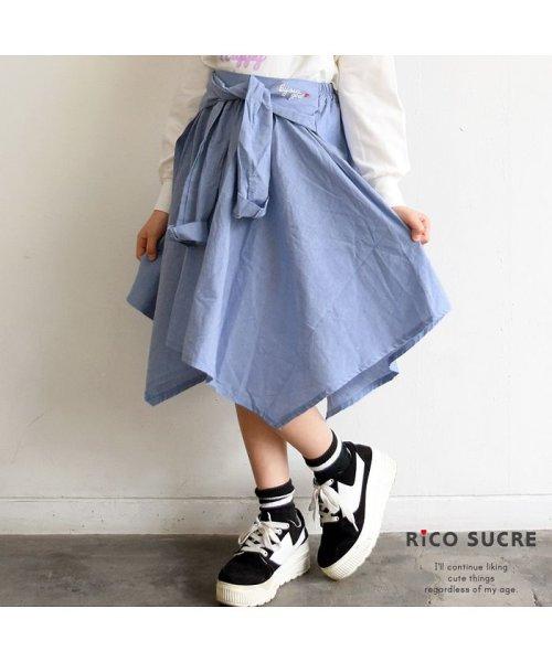 RiCO SUCRE(リコ シュクレ)/シャツ風スカート/RCSK92921_img10