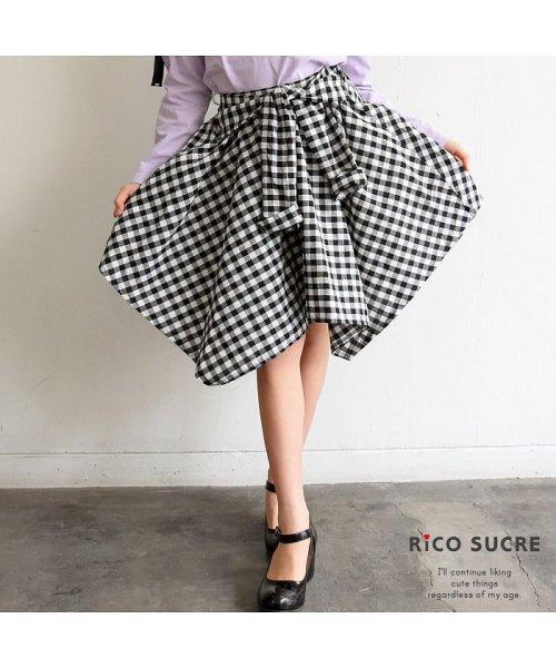 RiCO SUCRE(リコ シュクレ)/シャツ風スカート/RCSK92921_img11