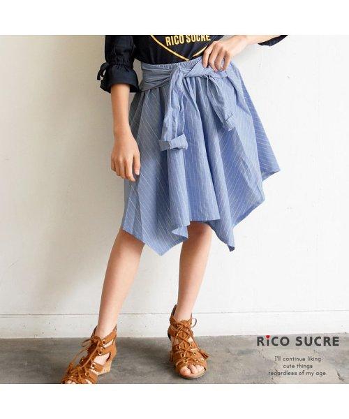 RiCO SUCRE(リコ シュクレ)/シャツ風スカート/RCSK92921_img12