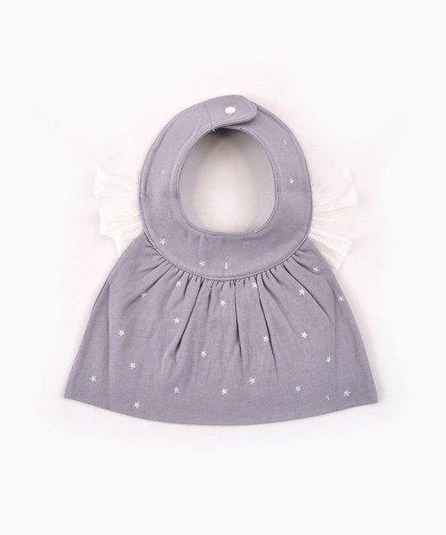 e-baby(イーベビー)/天竺+チュール星プリントフリルスタイ/183415529_img06