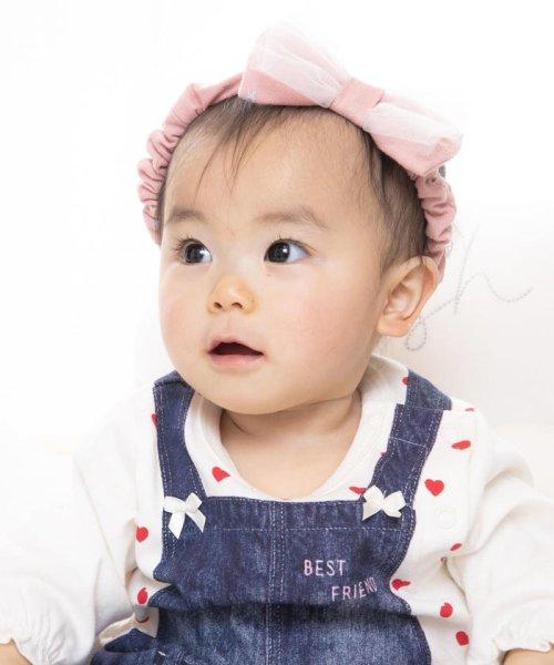 e-baby(イーベビー)/天竺+チュールリボンヘアバンド/183415596_img10