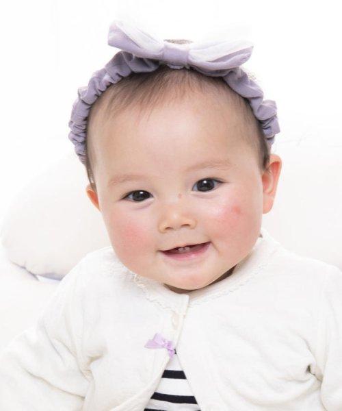 e-baby(イーベビー)/天竺+チュールリボンヘアバンド/183415596_img12