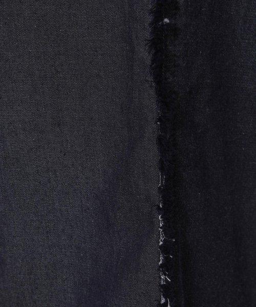 Viaggio Blu(ビアッジョブルー)/【大きいサイズ】フリンジワイドデニム/265085073_img05