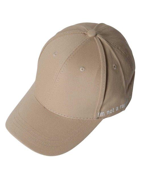 JIGGYS SHOP(ジギーズショップ)/メッセージプリントキャップ / キャップ メンズ 帽子 CAP/205158_img04