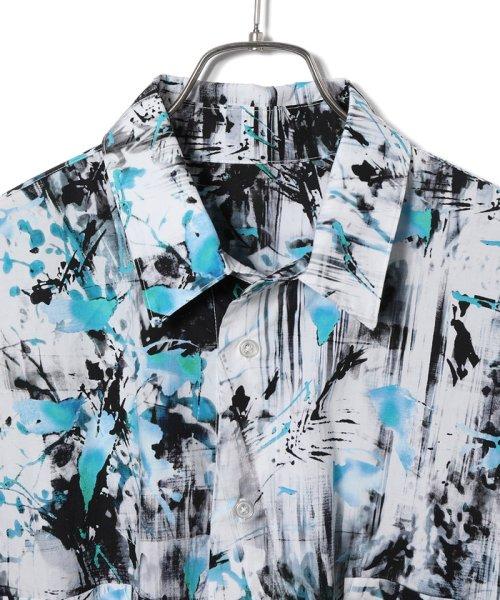 JUNRed(ジュンレッド)/【WEARISTA JUNコラボ】総柄ビッグシャツ/ANG69110_img02