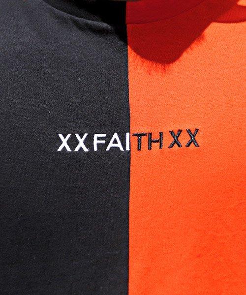 LUXSTYLE(ラグスタイル)/袖ラインロゴ&フォトプリントドッキングBIGTシャツ/Tシャツ メンズ 半袖 ロゴ プリント ビッグシルエット/pm-8575_img12