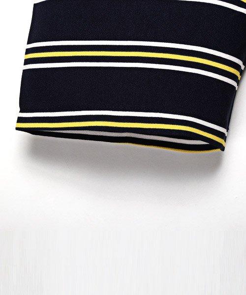 LUXSTYLE(ラグスタイル)/ボーダー柄ボートネック半袖Tシャツ/Tシャツ メンズ 半袖 5分袖 ボートネック ボーダー/pm-8610_img12