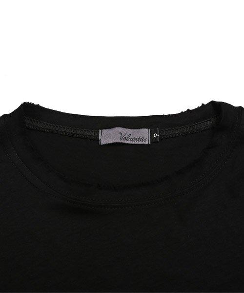 LUXSTYLE(ラグスタイル)/手書き風スター&ロゴプリントビッグ半袖Tシャツ/Tシャツ メンズ 半袖 手書き風 プリント ビッグシルエット/pm-8611_img10