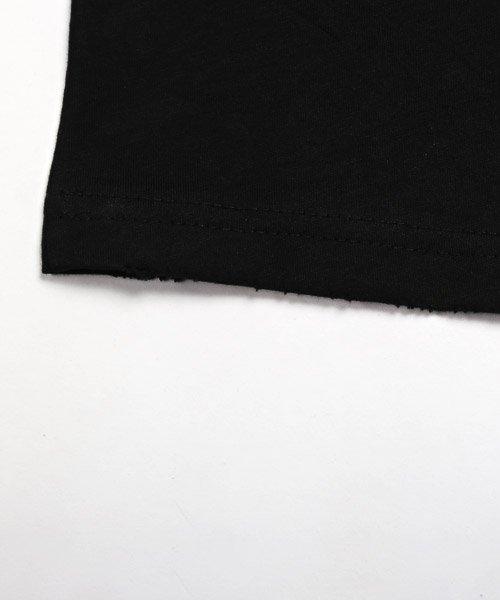LUXSTYLE(ラグスタイル)/手書き風スター&ロゴプリントビッグ半袖Tシャツ/Tシャツ メンズ 半袖 手書き風 プリント ビッグシルエット/pm-8611_img14