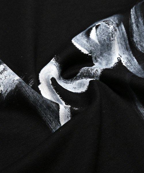 LUXSTYLE(ラグスタイル)/手書き風スター&ロゴプリントビッグ半袖Tシャツ/Tシャツ メンズ 半袖 手書き風 プリント ビッグシルエット/pm-8611_img15