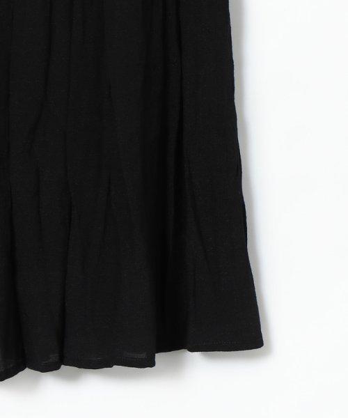 coen(コーエン)/【WEB限定 手洗いできる】ウォッシャブルスラブランダムプリーツスカート/76706089553_img21