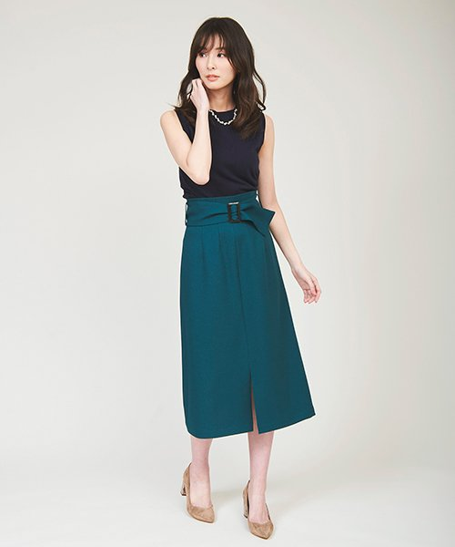 TheVirgnia(ザ ヴァージニア)/【LEE 9月号掲載】カルゼAラインスカート /8039308_img08