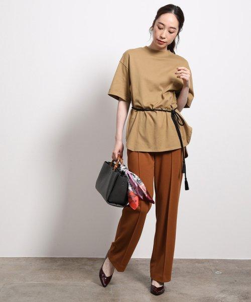 ROPE'(ロペ)/【ロープベルト付き】オーバーサイズTシャツ/GGM39430_img02