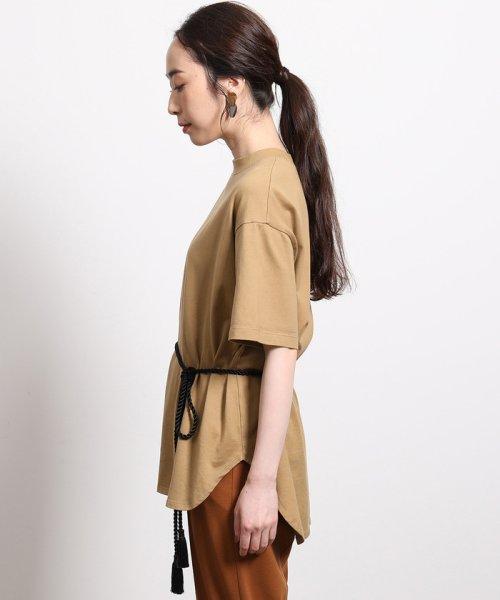 ROPE'(ロペ)/【ロープベルト付き】オーバーサイズTシャツ/GGM39430_img05
