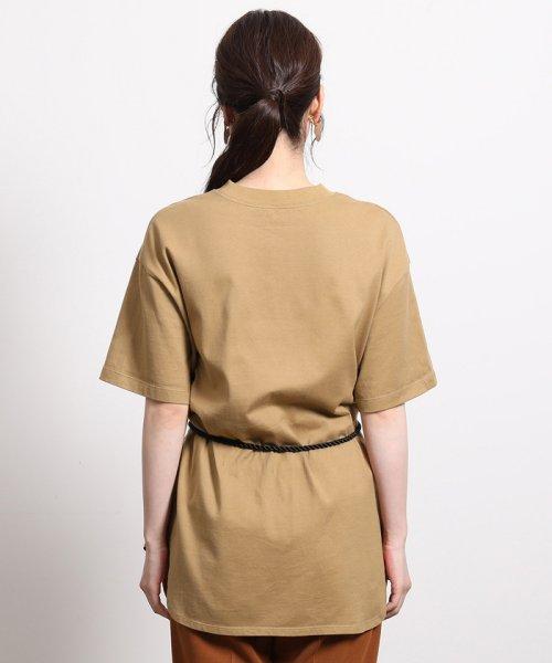 ROPE'(ロペ)/【ロープベルト付き】オーバーサイズTシャツ/GGM39430_img06
