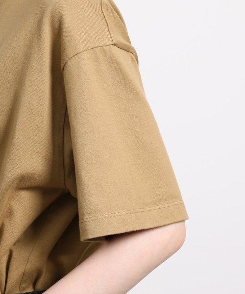 ROPE'(ロペ)/【ロープベルト付き】オーバーサイズTシャツ/GGM39430_img08