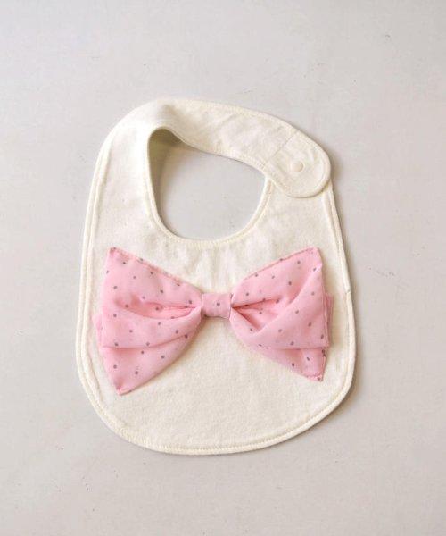 e-baby(イーベビー)/天竺+シフォンリボンスタイ/183415518_img01