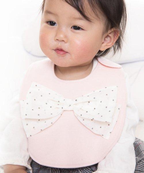 e-baby(イーベビー)/天竺+シフォンリボンスタイ/183415518_img10