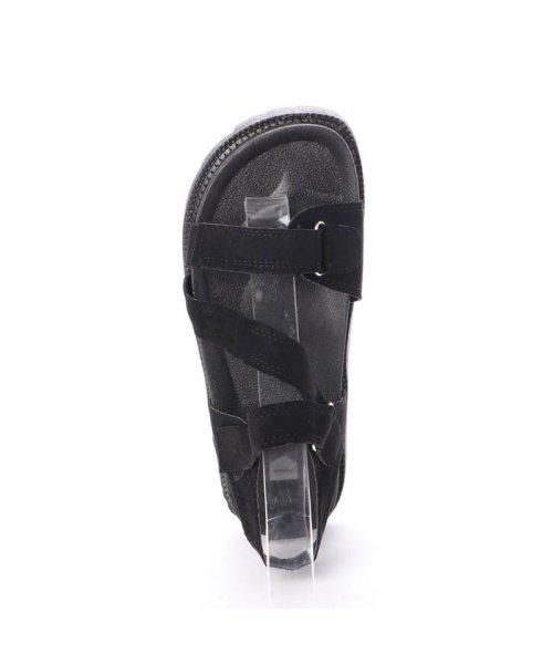 STYLEBLOCK(スタイルブロック)/スタイルブロック STYLEBLOCK 厚底スポーツサンダル (ブラック)/ST4819BW26272_img03