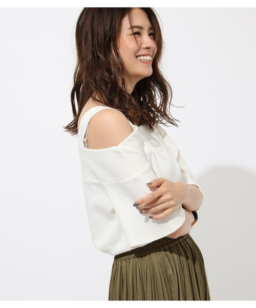 AZUL by moussy(アズールバイマウジー)/WIDE STRAP OPEN SHOULDER TOPS/250CSS80-614F_img01