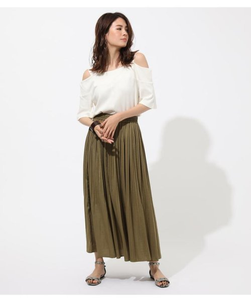 AZUL by moussy(アズールバイマウジー)/WIDE STRAP OPEN SHOULDER TOPS/250CSS80-614F_img02
