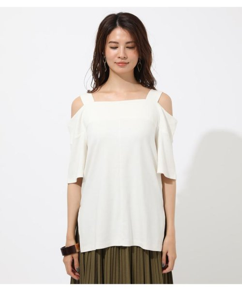 AZUL by moussy(アズールバイマウジー)/WIDE STRAP OPEN SHOULDER TOPS/250CSS80-614F_img03