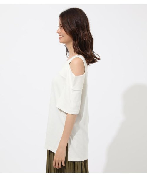 AZUL by moussy(アズールバイマウジー)/WIDE STRAP OPEN SHOULDER TOPS/250CSS80-614F_img04