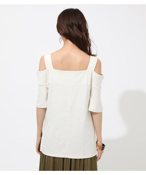 AZUL by moussy(アズールバイマウジー)/WIDE STRAP OPEN SHOULDER TOPS/250CSS80-614F_img05
