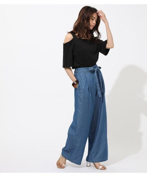AZUL by moussy(アズールバイマウジー)/WIDE STRAP OPEN SHOULDER TOPS/250CSS80-614F_img10