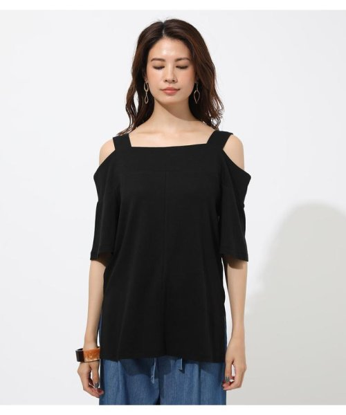 AZUL by moussy(アズールバイマウジー)/WIDE STRAP OPEN SHOULDER TOPS/250CSS80-614F_img11