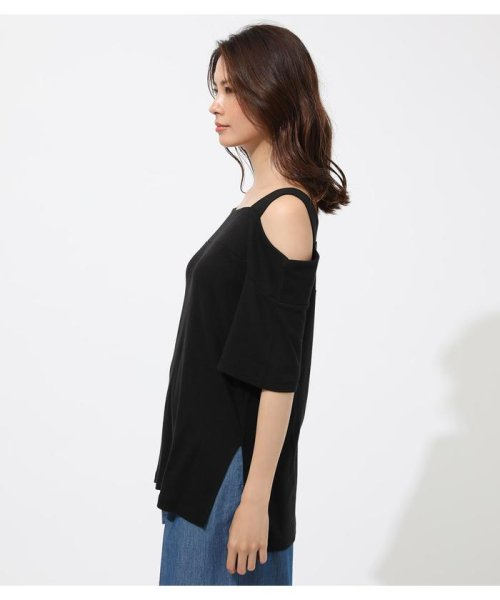 AZUL by moussy(アズールバイマウジー)/WIDE STRAP OPEN SHOULDER TOPS/250CSS80-614F_img12