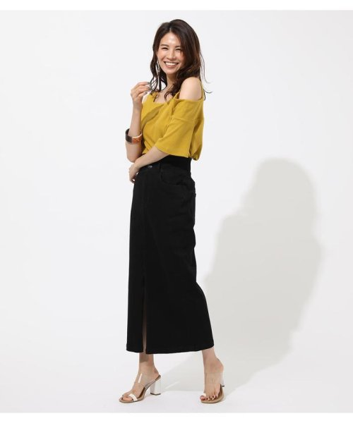 AZUL by moussy(アズールバイマウジー)/WIDE STRAP OPEN SHOULDER TOPS/250CSS80-614F_img18