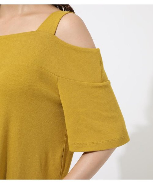 AZUL by moussy(アズールバイマウジー)/WIDE STRAP OPEN SHOULDER TOPS/250CSS80-614F_img23