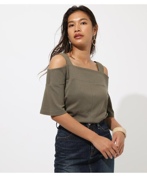 AZUL by moussy(アズールバイマウジー)/WIDE STRAP OPEN SHOULDER TOPS/250CSS80-614F_img25