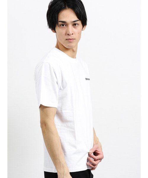 on the day(オンザデイ)/【WEB限定販売】コンバース/CONVERSE ワンポイント刺繍半袖Tシャツ/110207799801937_img03