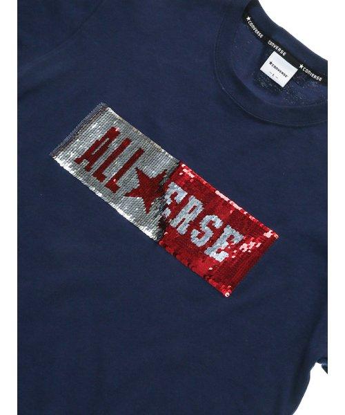 on the day(オンザデイ)/【WEB限定販売】コンバース/CONVERSE ロゴスパンコール半袖Tシャツ/110207799806937_img08